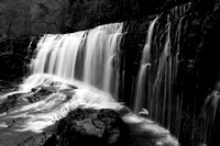 Sgwˆd Isaf Clun-Gwyn. Ystradfellte waterfalls, south Wales, UK