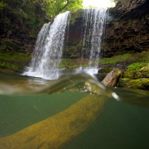 Sgwd-yr-Eira waterfall