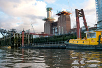 Battersea Power Station. River Thames, London