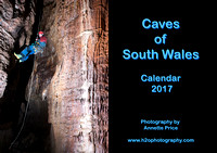 Caves of South Wales Calendar 2017