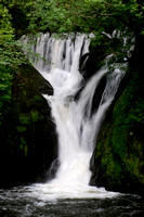 Furnace Falls on the River Einion, Mid-West Wales, UK