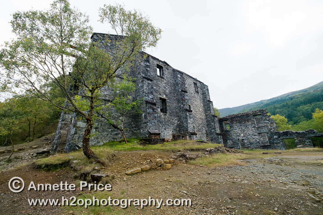 Klondyke Mill, north Wales, UK