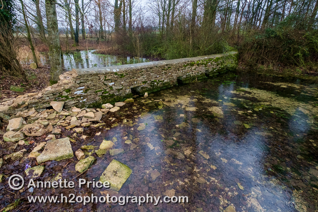 The third bridge over the River Thames. Appr 1 mile from the source of the  Thames. Near Kemble.