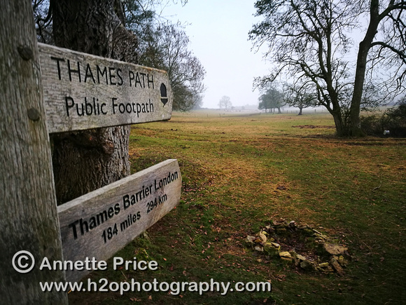 The Official Source of the River Thames. Kemble, UK