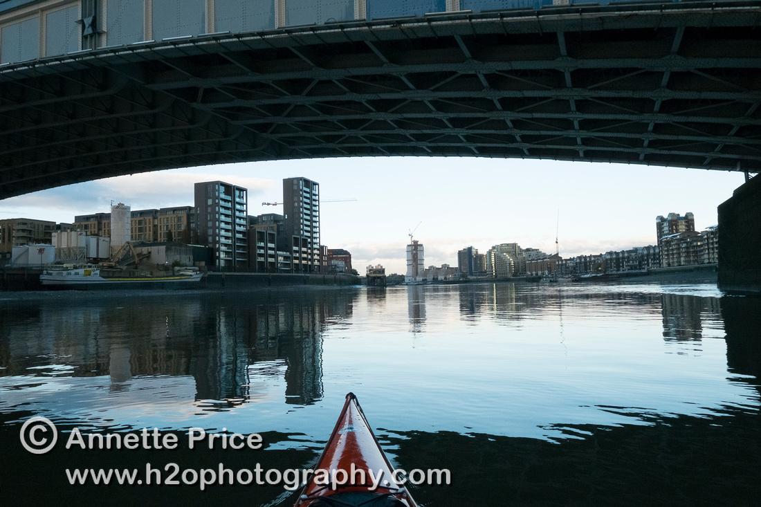 Wandsworth Bridge, River Thames, London