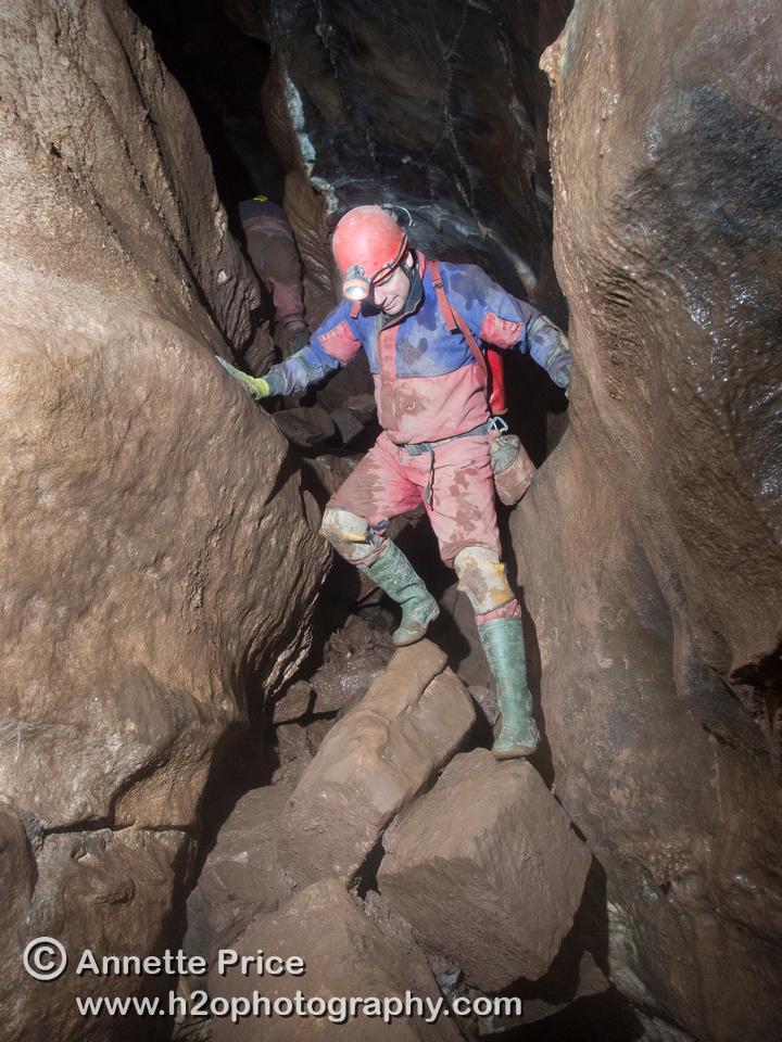 Ogof Ffynnon Ddu cave, South Wales, UK