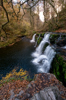 River Mellte, Ystradfellte, Brecon Beacons, Wales,UK