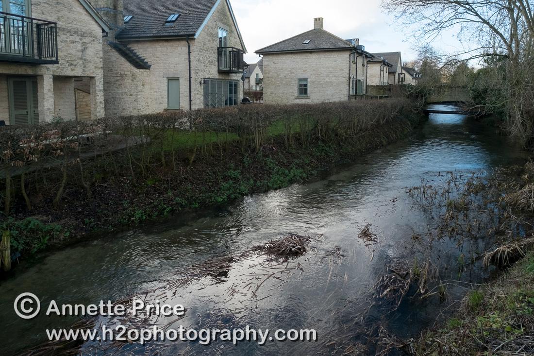 River Thames, Lower Mill Estate, UK