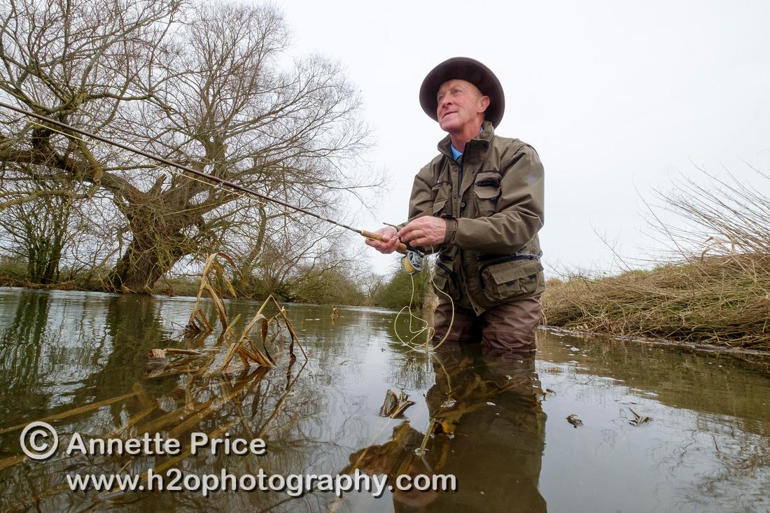 Fly Fisherman - David Wood 25
