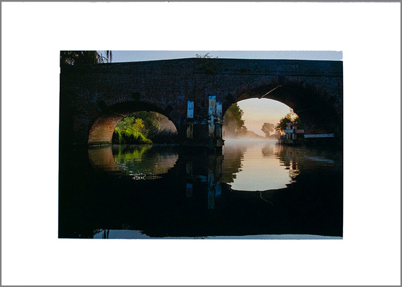 Sonning Bridge, River Thames.